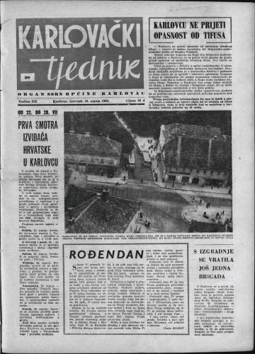 Karlovački tjednik: 1964 • 28
