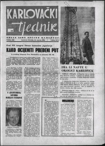 Karlovački tjednik: 1964 • 16