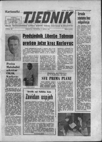 Karlovački tjednik: 1963 • 24