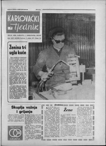 Karlovački tjednik: 1977 • 9