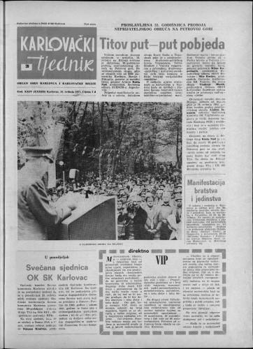 Karlovački tjednik: 1977 • 20