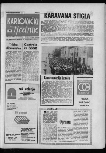 Karlovački tjednik: 1975 • 43
