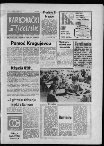 Karlovački tjednik: 1975 • 39
