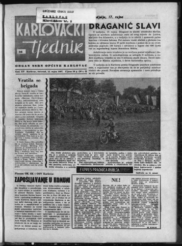 Karlovački tjednik: 1967 • 36