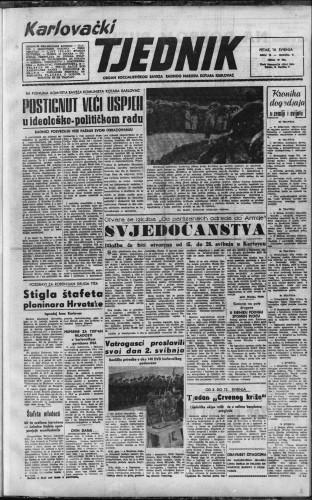 Karlovački tjednik: 1957 • 19