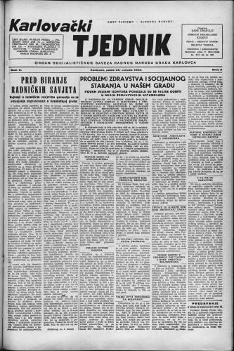 Karlovački tjednik: 1954 • 9