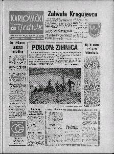 Karlovački tjednik: 1973 • 44