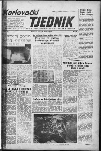 Karlovački tjednik: 1955 • 1