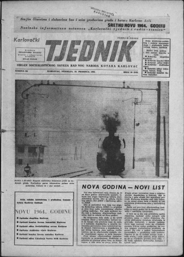 Karlovački tjednik: 1963 • 50