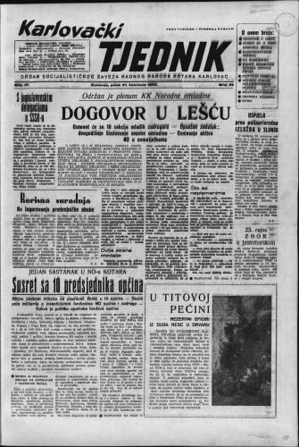 Karlovački tjednik: 1956 • 35