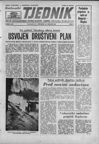 Karlovački tjednik: 1959 • 8