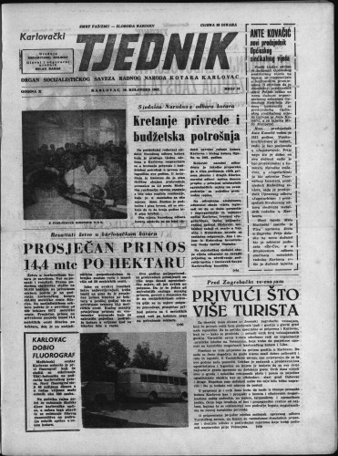 Karlovački tjednik: 1962 • 34