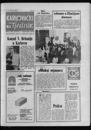 Karlovački tjednik: 1975 • 45