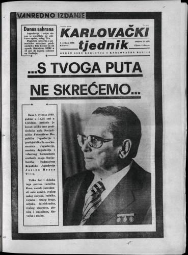 Karlovački tjednik: 1980 • 18