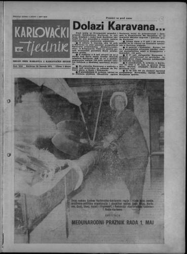 Karlovački tjednik: 1974 • 17