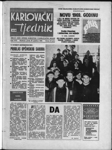 Karlovački tjednik: 1968 • 51