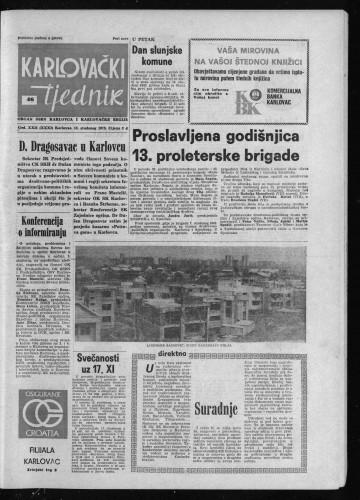 Karlovački tjednik: 1975 • 46