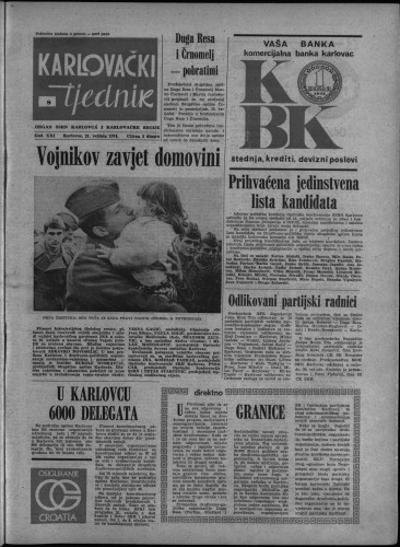 Karlovački tjednik: 1974 • 8