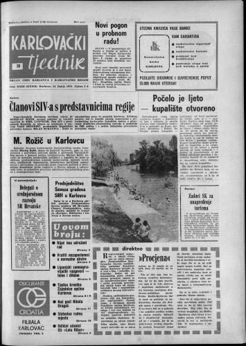 Karlovački tjednik: 1976 • 26
