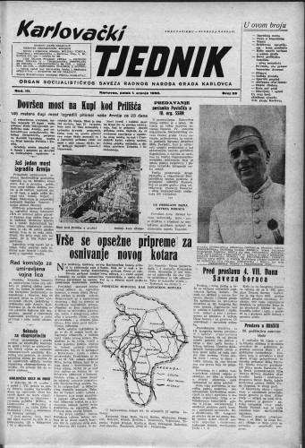 Karlovački tjednik: 1955 • 26