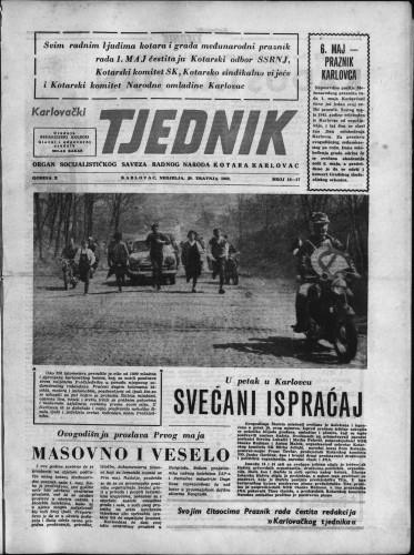 Karlovački tjednik: 1962 • 16