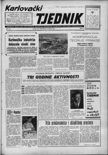 Karlovački tjednik: 1958 • 39