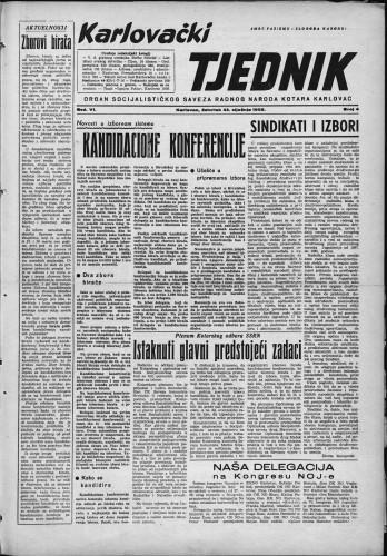 Karlovački tjednik: 1958 • 4