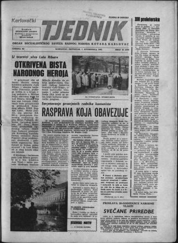 Karlovački tjednik: 1963 • 43