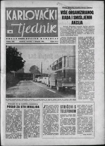 Karlovački tjednik: 1964 • 39
