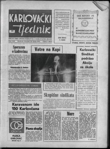Karlovački tjednik: 1972 • 26