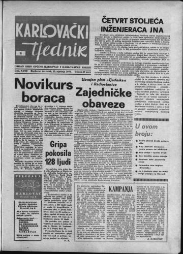 Karlovački tjednik: 1970 • 3