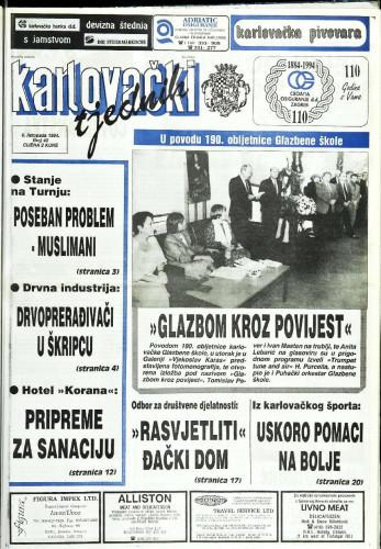Karlovački tjednik: 1994 • 40