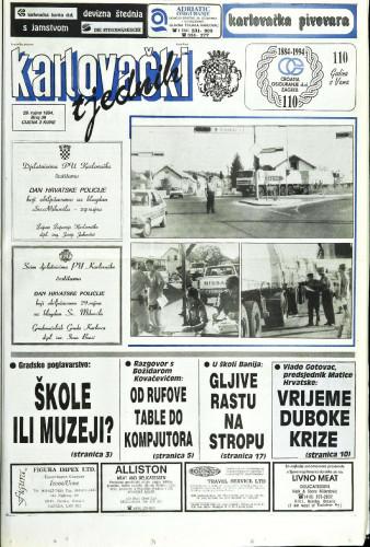 Karlovački tjednik: 1994 • 39