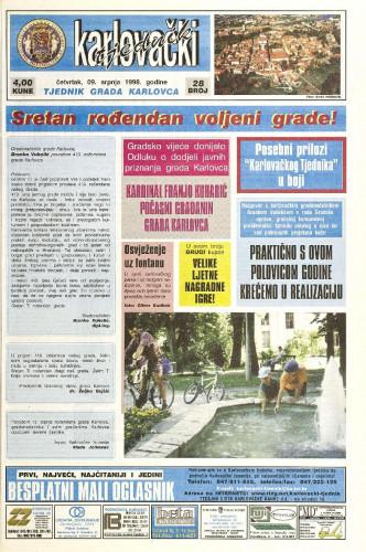 Karlovački tjednik: 1998 • 28