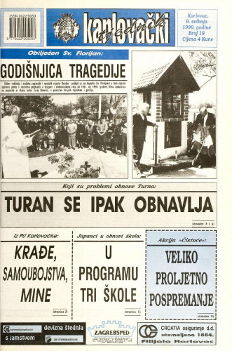 Karlovački tjednik: 1996 • 19