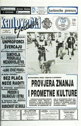 Karlovački tjednik: 1994 • 20