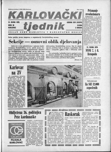 Karlovački tjednik: 1978 • 38