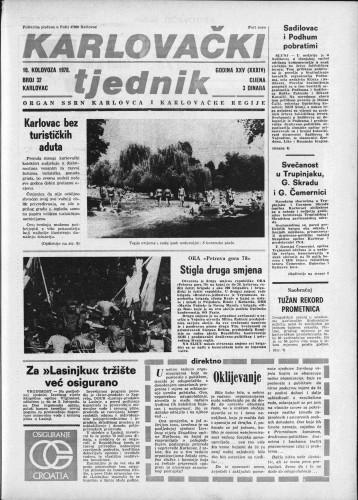 Karlovački tjednik: 1978 • 32