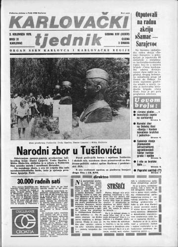 Karlovački tjednik: 1978 • 31