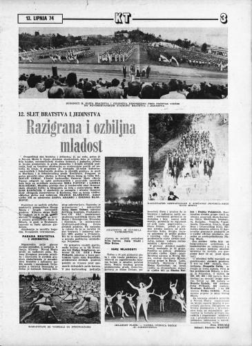 Karlovački tjednik: 1974 • 24