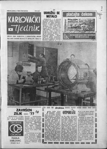 Karlovački tjednik: 1977 • 4