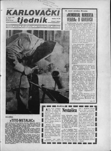 Karlovački tjednik: 1982 • 24