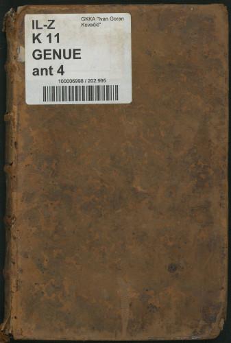 Antonii Genuensis ... Disciplinarum metaphysicarum elementa, mathematicum in morem adornata,sv. 4
