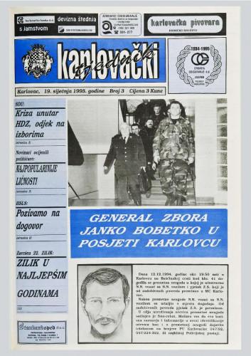 Karlovački tjednik: 1995 • 3