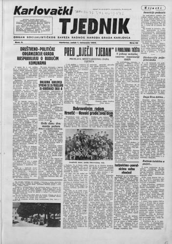 Karlovački tjednik: 1954 • 40
