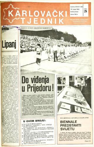 Karlovački tjednik: 1987 • 24