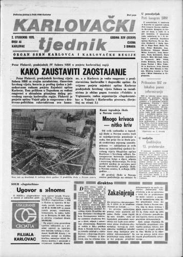 Karlovački tjednik: 1978 • 44