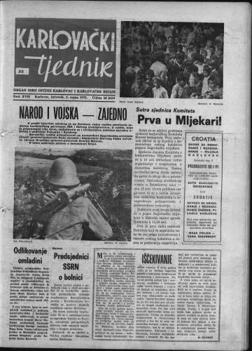 Karlovački tjednik: 1970 • 35
