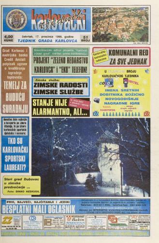 Karlovački tjednik: 1998 • 51