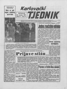 Karlovački tjednik: 1957 • 17